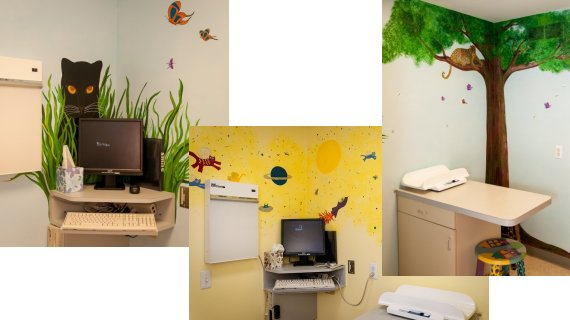 Our comfortable patient rooms